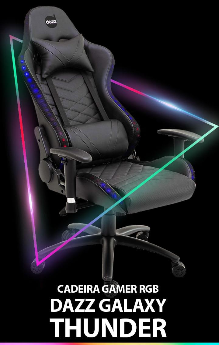 Cadeira Gamer RGB Dazz Galaxy Thunder 62000002 - shopinfo