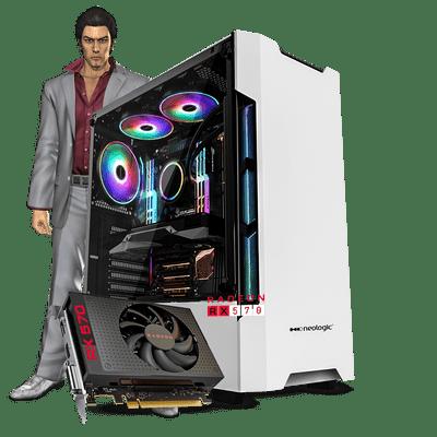 PC Gamer Neologic NLI81366 Ryzen 5 2400G 8GB (RX 570 4GB) SSD 240GB