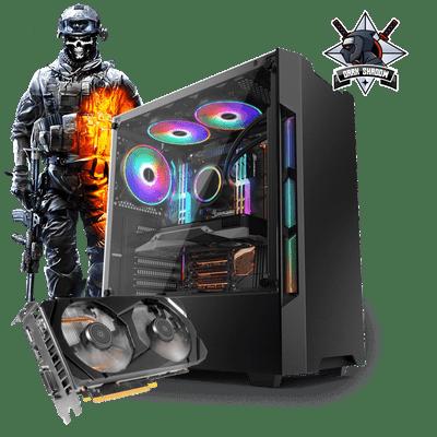 PC Gamer Neologic Dark Shadow NLI81269 Intel I3-7100 8GB (GeForce GTX 1660) 1TB