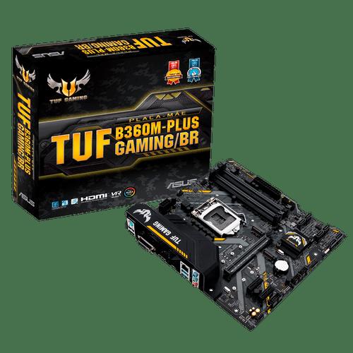 Placa Mãe LGA1151 B360M-Plus Gaming/BR 90MB0Y40-C1BAY0 Asus